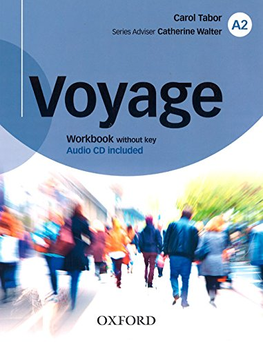 Voyage A2 Workbook without Key and DVD Pack