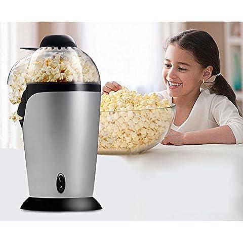 Delipop bmh245 220 V Popcorn Maker Máquina elede Acero presupuesto 1200 W Silver para niños