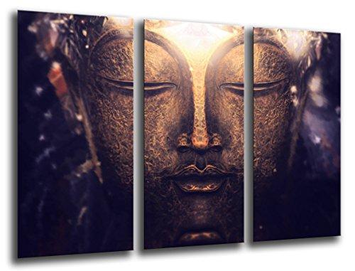 Cuadro Moderno fotografico base madera, 97 x 62 cm, Buda Buddha, Relajacion, Relax, Zen ref. 26110