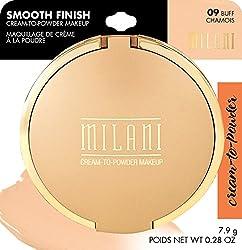 Milani Smooth Finish Cream To Powder Makeup, Buff