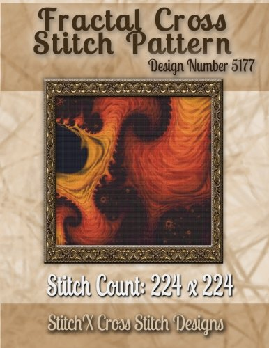 Fractal Cross Stitch Pattern: Design No. 5177