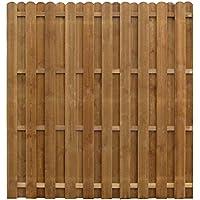 vidaXL Panel de Valla Cuadrado Madera de Pino Impregnada Pared Patio 170x170cm