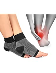 Plantar Fasciitis Socks Foot Care Compression Sock Sleeve with Arch & Ankle Support and Heel Hugger Increases Circulation, Eases Swelling & Acts Like a Brace to Relieve Pain, Better Than Night Splint