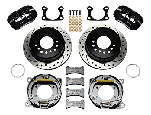 wilwood Engineering 140-11387-d Bremse, Kit (BIGFORD gebohrt mit Feststellbremse hinten) (Big Brake Kit)