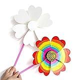 Kind Lernspielzeug, Chickwin Papier Toys Papierschnitt diy Spielzeug Painting toys Entwicklung Denken Pädagogische Spiele Toys Interessantes Spielzeug (Windmühle)