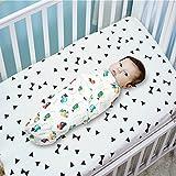 #5: Square Cotton Wrap Adjustable Infant Swaddle, Free Size, 23x23-inch (Colour 4)