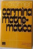 Carmina Mathematica und andere poetische Jugendsünden - Hubert Cremer