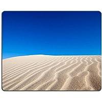 Gomma Naturale Luxlady Gaming Mousepad Dune Sabbia Deserto sotto un cielo blu giorno immagine ID 26224318