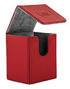 Ultimate Guard Flip Deck Case 100+ Caja de Cartas Tamaño Estándar XenoSkin Rojo