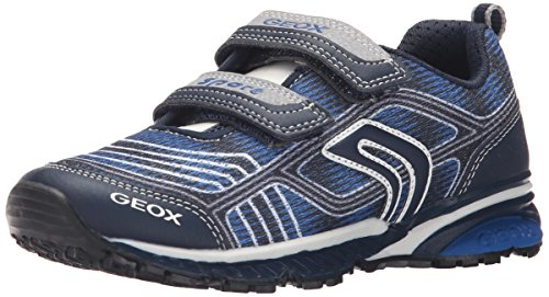 Geox Jungen J BERNIE B Low-Top Blau (NAVY/ROYALC4226) 30 EU