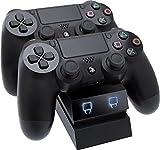 Venom PlayStation 4 Twin Docking Station - Black (PS4)