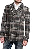 Drykorn Herren Jacke Mantel CAMDEN RAW, Farbe: Braun, Größe: 48