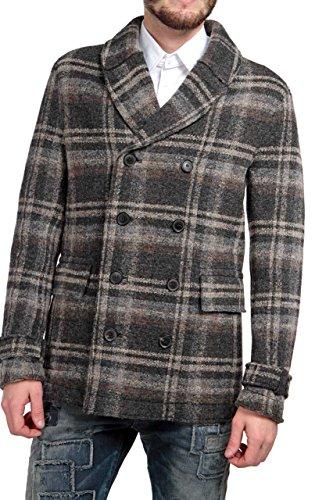 drykorn herren mantel Drykorn Herren Jacke Mantel CAMDEN RAW, Farbe: Braun, Größe: 50