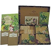 Bio-Saatgut-Adventskalender 2020 - Gemüse-, Kräuter- und Blumen-Raritäten mit Geschichte - befüllt mit 24 Bio-Samentütchen in schönem Design