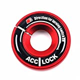 COGEEK Car Ignition Keyhole Decoration Ring Trim Cover for...