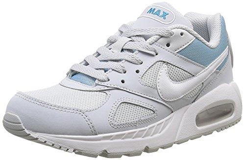 Nike Damen Wmns Air Max Ivo Turnschuhe, 37,5 EU Weiß (Pure Platinum / White-Bl Lagoon)