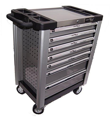 Werkstattwagen Werkzeugwagen gefüllt mit Werkzeug Aluminium Edition - 2
