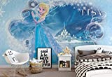 Wallsticker Warehouse Disney Frozen Eiskönigin ELSA Fototapete - Tapete - Fotomural - Mural Wandbild - (835WM) - XL - 208cm x 146cm - VLIES (EasyInstall) - 2 Pieces