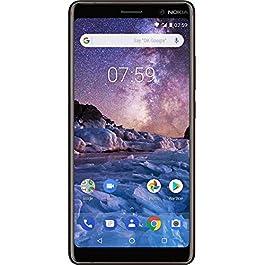 Nokia 7 Plus Sim-Free Smartphone – Black/Copper (Renewed)