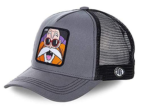 Collabs Gorra Dragon Ball Z Kame Trucker Gris OSFA