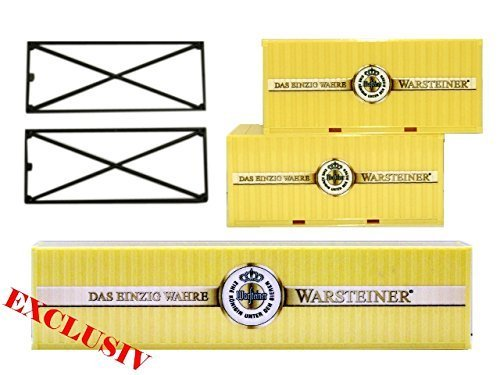 herpa-908856-exclusive-container-set-warsteiner-limitiert-2x20ft-1-x40ft-h0