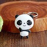 Jellbaby Mode Schlüsselanhänger Tasche Zubehör KFZ Schlüssel Schlüsselanhänger Anhänger, Panda