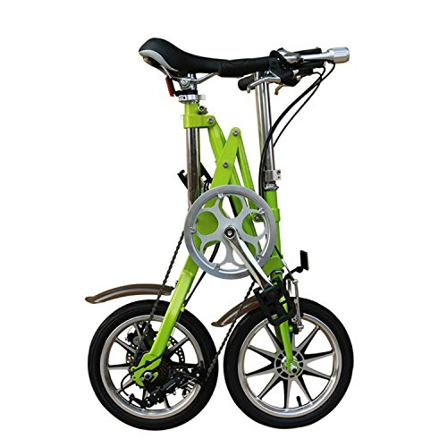 AdraXx Super Folding Bike For City And Vacations With 7 Speed Gears