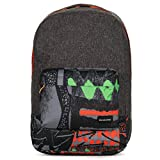 Quiksilver Night Track Print Backpack BP Labrinth Green