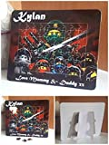 ninjago personalised freestanding jigsaw, gift for boys, birthday, christmas