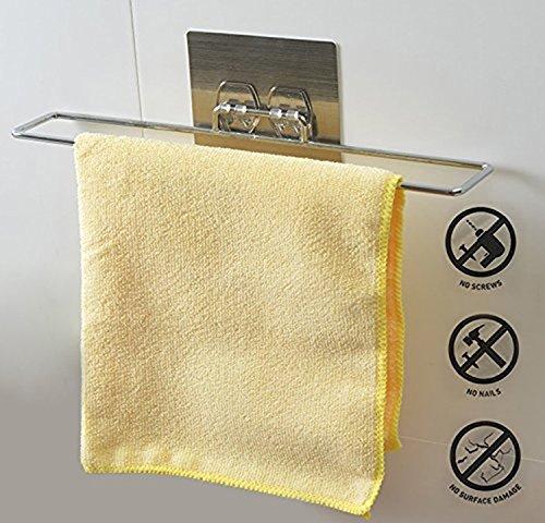 Kurelle Edelstahl Handtuchhalter für Bad oder die Küche
