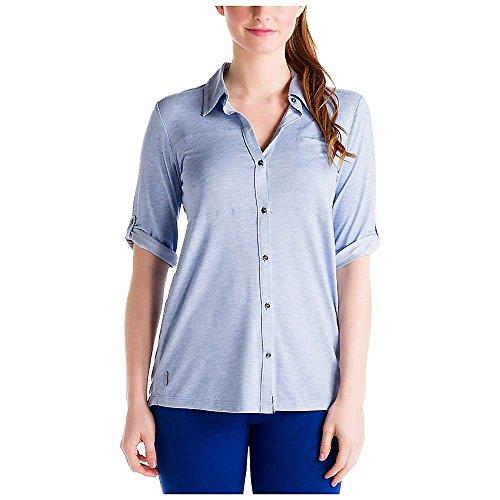 Lole Damen Rosy Shirt Sail Blue Heather