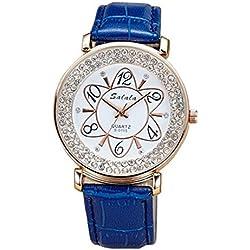 Damen Armband-Uhren, Quarz-Uhren , blue