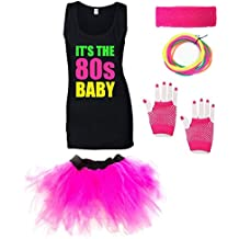 IT'S THE 80s BABY Ladies Outfit (Vest)