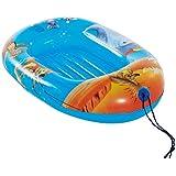 Unbekannt Aufblasbares Schlauchboot für Kinder mit aufblasbarem Boden 95x60 cm • Kinderboot Gummiboot Badeboot Badespaß Wasser Spielzeug Boot Kind