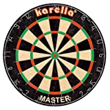 Karella Wettkampf-Dartboard  - erlaubt auch die Verwendung von Softdarts