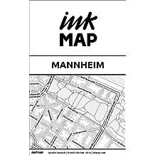 Inkmap Mannheim - Karten für eReader, Sehenswürdigkeiten, Kultur, Ausgehen (German)