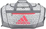 Best adidas Womens Gym Bags - adidas Women's Defender III Small Duffel Bag, Red Review