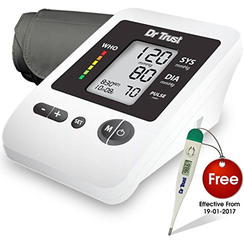 Dr.Trust Blood Pressure Monitor Silver Line
