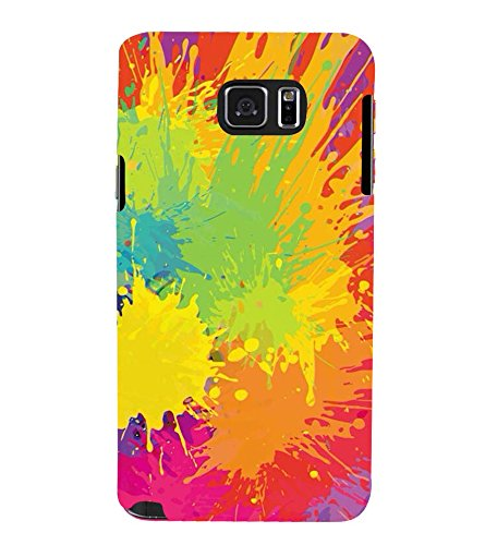 PrintVisa Designer Back Case Cover for Samsung Galaxy Note 5 :: Samsung Galaxy Note 5 N920G :: Samsung Galaxy Note5 N920T N920A N920I (Abstract Pattern Of Holi)