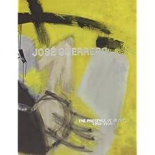 JOSÉ GUERRERO: THE PRESENCE OF BLACK. 1950-1966