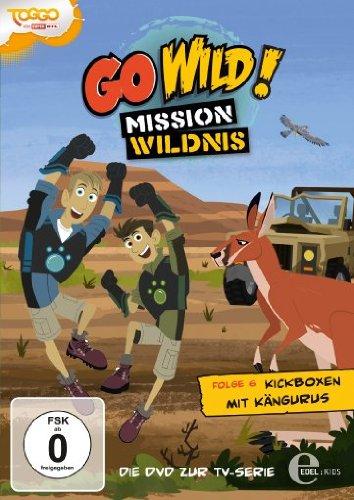 Go Wild! Mission Wildnis - Folge 6: Kickboxen mit Kängurus Känguru Serie