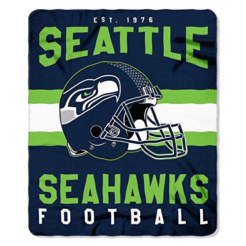Seattle Seahawks Offizielle NFL Decke, Fleecedecke in 127 x 152 cm