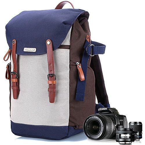 Kamera Rucksack mit Laptop, Kamera Tasche für DSLR, Kamera Fall und Tasche für Herren Einsatz, Profi Rucksack Anzug für Canon EOS, Nikon, Video-Kameras, Objektiv Kits, Stative, Gadget Tasche