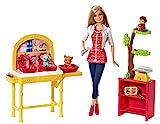 Barbie Mattel CBL19 - Ich wäre gern Zoo-Tierärztin Deluxe Spielset