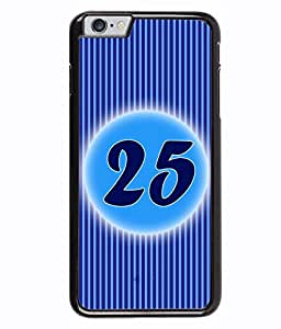 Fuson 2D Printed Numerology Designer back case cover for Apple iPhone 6 - D4245