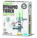 Create Your Own Clean Green Energy Dynamo Torch - Scientific Kit - Popular Educational - Science Toys & Games Gift Present Idea For Birthdays Age 8+ Boys Girls Children Kids