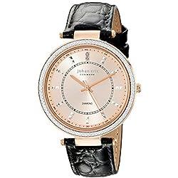 Johan Eric Damen je1000b-09-007ballrup Analog Display Quartz Black Watch