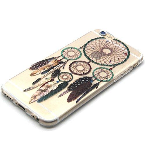 TPU Silikon Schutzhülle Handyhülle Painted pc case cover hülle Handy-Fall-Haut Shell Abdeckungen für Smartphone Apple iPhone 6 6S (4.7 Zoll)+Staubstecker (Q3) 9