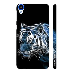 HTC Desire 820 NIGHT FURY designer mobile hard shell case by Enthopia