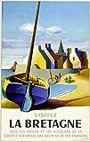 Vintage Poster/Retro Bretagne - Format 40 x 60 cm